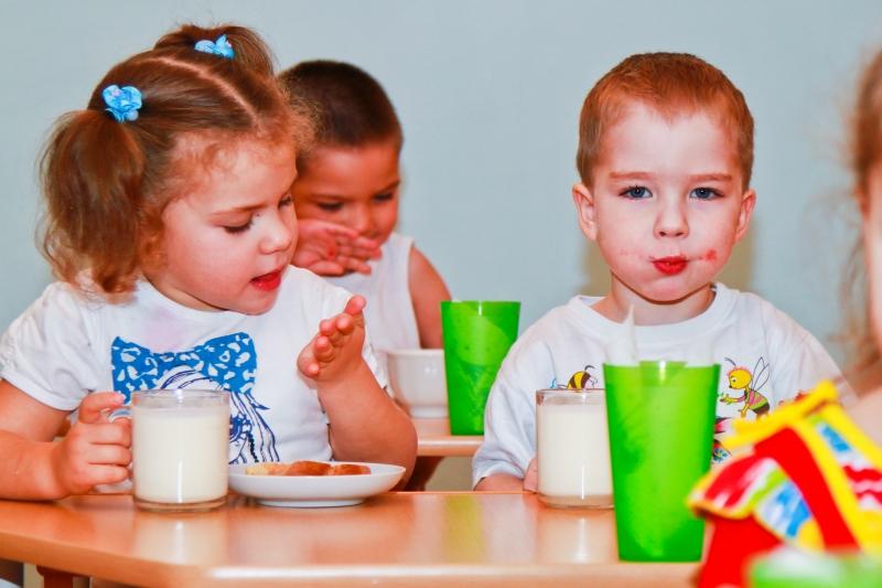 Правильное и полезное питание в детском саду