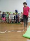 Открытый урок по детской йоге