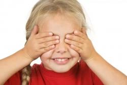 Пальминг для детей (Снятие усталости глаз)